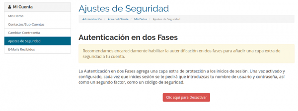 autentificacion en dos fases google authenticator